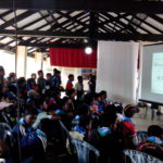 Online safety awareness for children by Sri Lanka CERT|CC  at Asia-Pacific Scout Jamboree 6