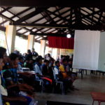Online safety awareness for children by Sri Lanka CERT|CC  at Asia-Pacific Scout Jamboree 8